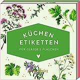 Küchen-Etiketten für Gläser & Flaschen (Kräuter, Hölker Küchenpapeterie)