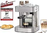 ROMMELSBACHER Espresso Maschine EKS 2010 - Siebträger, Filtereinsatz für 1 bzw. 2 Tassen,...
