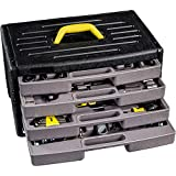 WMC Tools Werkzeugset 1/4' 3/8' 135-teilig Werkzeugkoffer Werkzeugset Werkzeug Set Werkzeugsatz
