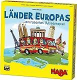 HABA 304532 - Länder Europas, spannende Europareise für die ganze Familie, Wissensspiel für 2-4...