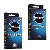 2x My.Size Kondome 53mm - 10er DOPPEL-Sparpaket