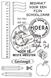 Marianne Design Stempel Schule Stempel – NL CS0909