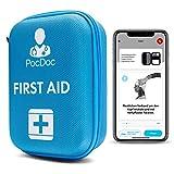 PocDoc Outdoor - Intelligentes Erste Hilfe Set nach DIN 13167 mit APP (Menschen & Tiere)- Reisen,...