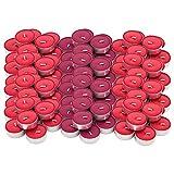 IKEA Sinnlig Duft-Teelichter, rote Gartenbeeren, 120 Stück rot