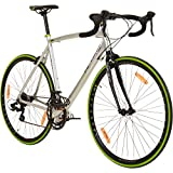Galano 700C 28 Zoll Rennrad Vuelta Sti 4 Rahmengrößen 2 Farben, Rahmengrösse:53 cm,...