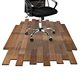 etm® Bodenschutzmatte 90x120 cm Hartboden | extra transparent und rutschfest | optimales...