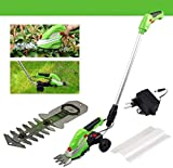 Home Accessories  Lightweight Powerful Outdoor Grass Trimmers 2 in 1 Cordless Grass And Hedge...