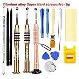 16 in 1 Reparatur Öffnungs Werkzeug Kit Schraubendreher Set für iPhone 8/7/6/5/4/X/iPad iPod...