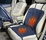 ObboMed SH-4100 12V 45W Beheizbare Sitzauflage Sitzkissen mit extra sichere Befestigung - Optional...
