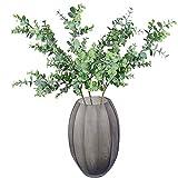 Aisamco 3 Stück Künstliche Eukalyptus Zweige Pflanzen Faux Eukalyptus Blätter Spray Künstliche...