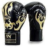 Boxhandschuhe Adult Boxing Supplies Kampf Kampf Boxsets Verarbeitete Custom Boxhandschuhe Schwarz