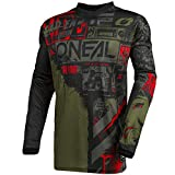 O'NEAL | Motocross-Jersey Langarm | MX Enduro | Gepolsterter Ellbogenschutz, V-Ausschnitt,...