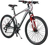 KRON TX-100 Aluminium Mountainbike 28 Zoll | 21 Gang Shimano Kettenschaltung mit Scheibenbremse | 18...