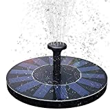 DCSHOP Solar Springbrunnen, 1,5W Solar Teichpumpe 200 L/h Solar Panel Wasserpumpe fr Verschiedene...