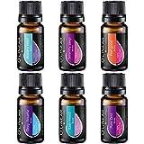6 Top-Mischungen für Duftlampe, Ätherische Öle für Aroma Diffuser, Raumduft, Guter Schlaf,...