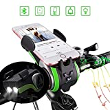 Bluetooth Fahrrad Lautsprecher,Kabellos Sport Tragbare Lautsprechers,with 4400mAh Leistung...