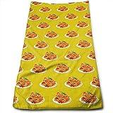 tyui7 Spaghetti-Handtücher Hochsaugfähige, schnell trocknende Handtücher für Fitness- und...