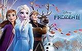 Frozen II, Eisknigin Tortenaufleger, Rechteckig