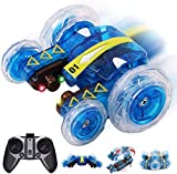 Bck Doppelseitige Flip Stunt-Auto Elektro-RC Spielzeug All Terrain 360 ° Rotation mit USB Charg, RC...