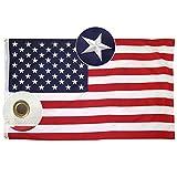 Lixure Amerikanische Flagge/Fahne USA Flagge 150x240cm(5x8Fuß) US Flagge Permium Qualität...