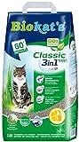 Biokat's Classic fresh 3in1 mit Duft - Klumpende Katzenstreu mit 3 unterschiedlichen Korngrößen -...
