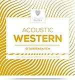 Gitarrensaiten Westerngitarre - Stahl Phosphor Bronze Saiten für Western-Gitarre & Akustikgitarre |...