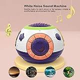 JJIIEE Baby-Schlaf-White Noise Sound Machine, Aufnahme-Funktion, 3-in-1-Kind-Baby-Musik-Spielzeug...