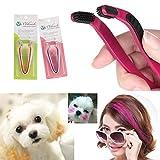 Videoleuchte Dog Hair Coloring Tool Hair Bleach Comb Hair Dye Pet Hair Highlighting D.I.Y. Hair Dye...