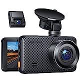 APEMAN 1440P&1080P Dashcam vorne und hinten, Maximal 1520P, 128 GB Unterstützung, 170° Dashcam...