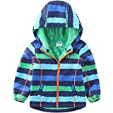 umkaumka Softshell Jacke für Kinder Fleece gefüttert mit Kapuze Gr.104, Softshelljacke Jungen...