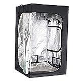 Grow Room Tent hydroponischen 120 * 120 * 200 cm (48'x48 x80) Innen wachsen Box, 600D Mylar...