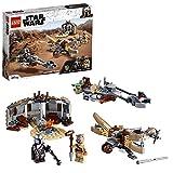 LEGO 75299 Star Wars: The Mandalorian Ärger auf Tatooine Bauset mit Baby Yoda das Kind Figur,...