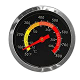 Grillthermometer/Grillthermometer, Temperaturanzeige, 10-400 °C, Edelstahl