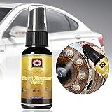 LZDseller01 Rostreiniger-Spray, 30 ml, sicherer Rostfleckenentferner, Lack, Rost, Metallschutz,...