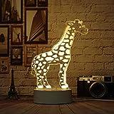 Nur 1 Stück 3 Farbwechsel 3d Nachtlicht Mini Geschenk Lampe Dekoration Neuheit Luminaria Led...