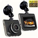 Mengen88 Dash Cam, Full HD 1080P Dash Kamera für Autos mit 140 Grad Weitwinkel
