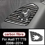 TINTABO Für Audi TT8n 8J MK1 2 3 TTRS TTS, Zubehör Auto Interieur Carbon Auto Aufkleber...