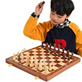 H.Q Holzschachspiel High Grade 4 Queen Schachspiel König Höhe 80mm Schachfiguren Falten 39 * 39 cm...