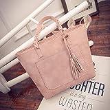 Mode gewebte Fransen Frauentasche, One-Shoulder-Tasche mit großem Fassungsvermögen, lässige...