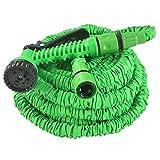Juskys Flexibler Gartenschlauch Aqua mit Handbrause   22,5 m   Adapter 1/2 Zoll & 3/4 Zoll   grün  ...