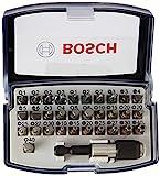 Bosch Professional 32tlg. Schrauberbit Set (Extra Hart-Schrauberbit, Zubehör Bohrschrauber und...