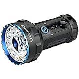 OLIGHT X7R Marauder 2 Extrem Helle Leistungsstarke LED Taschenlampe mit Strahler und Flutlicht,...