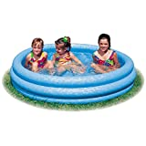 Intex Kinderpool 3-Ring-Pool Crystal Blue, Blau,  147 cm
