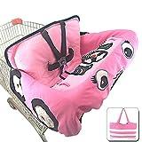 Basisago Baby-Schutzkissen für Trolley / Trolley / Kindersitz, bequem, bunt, tragbar, lustig,...