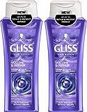 2x Schwarzkopf Gliss Kur Ultimate Repair & Volumen Shampoo 0% Silikon 250ml