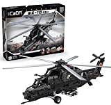 LAIQIAN Technik Hubschrauber Bausteine, Ferngesteuert Helikopter Militär CADA C61005 Modell...