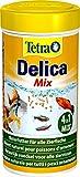TetraDelica Natural Snack 4-in-1-Mix, Naturfutter-Mischung vier separaten Fächern für alle...