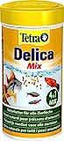 TetraDelica Natural Snack 4-in-1-Mix, Naturfutter-Mischung vier separaten Fchern fr alle Zierfische,...