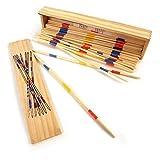 Mikado Spiel in Holz-Box 19 cm