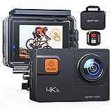 APEMAN Action Cam A87,UHD 4K 60fps Touchscreen WiFi Unterwasserkamera 20MP Digitale wasserdichte 40M...